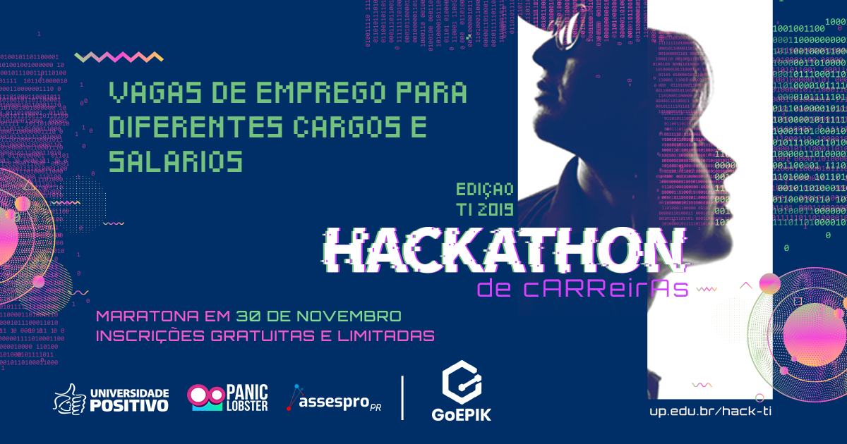 GoEPIK participa de hackathon com vagas de emprego em TI