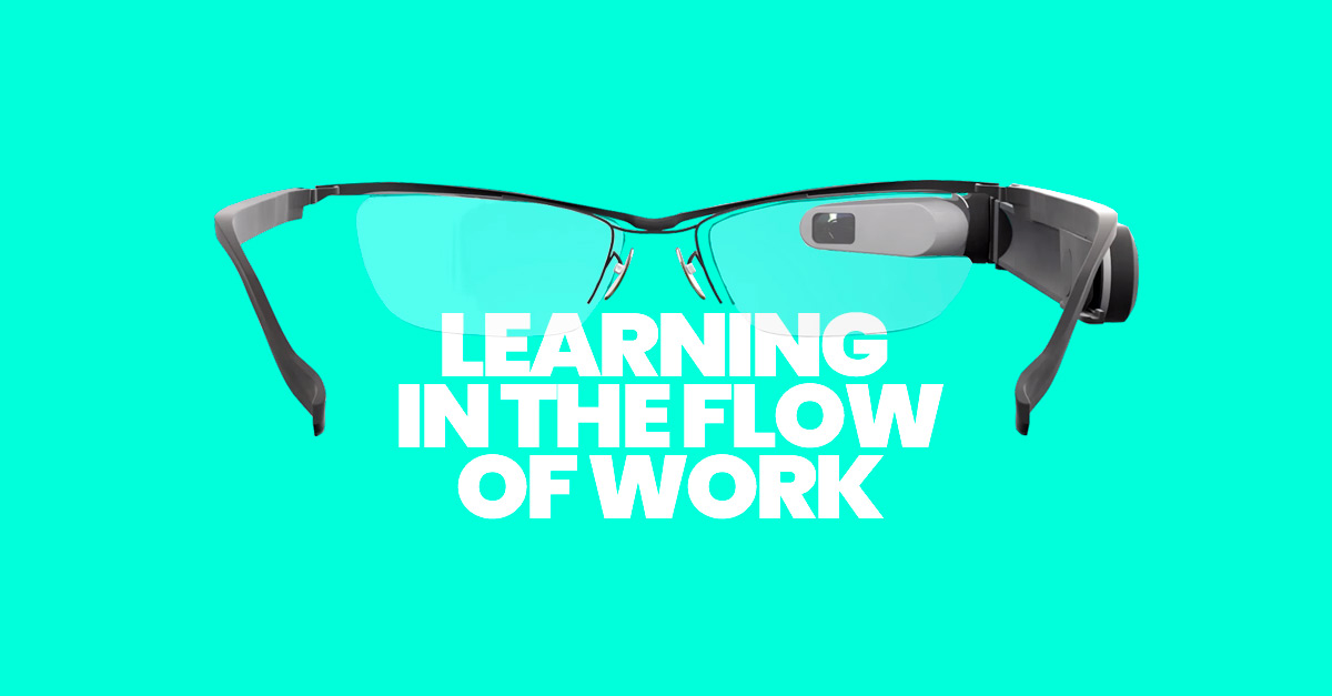 Learning in the Flow of Work com tecnologias de ponta